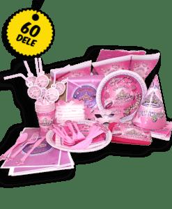 Prinsesse basis pakken - Basis pakke med alt hvad du behøver til den perfekte prinsesse fødselsdag: Danmarks bedste og billigste prinsesse fødselsdags pakke