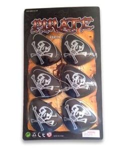 Pirat klap (6 stk.) er uundværlig til en pirat fest eller en børnefødselsdag med pirat tema. Følg skattekortet og kæmp for skatten på den vilde skattejagt